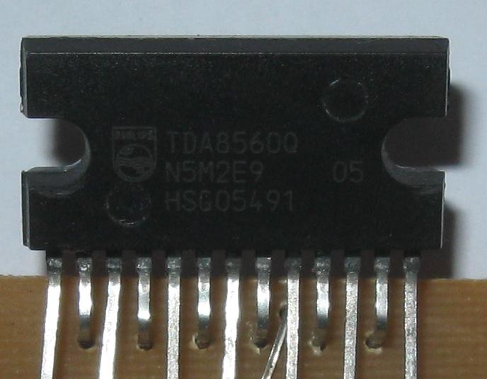 схема на TDA 8560q - Продвинутая схемотехника.